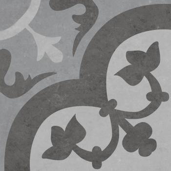 CHARLOTTE GRIS DECOR (25  x 25)
